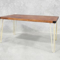 Retro Kitchen Table Cabinets Knoxville Hairpin Leg Dining 1 5 M Holy Funk Legs