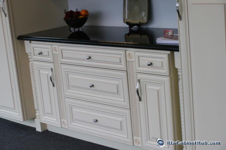 natural maple kitchen cabinets mobile for sale cream glaze - french vanilla rta