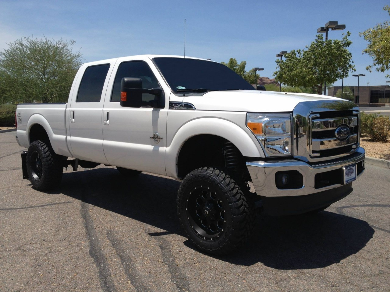 small resolution of 2013 ford f 250 6 mcgaughys lift kit 20x9 fuel wheels