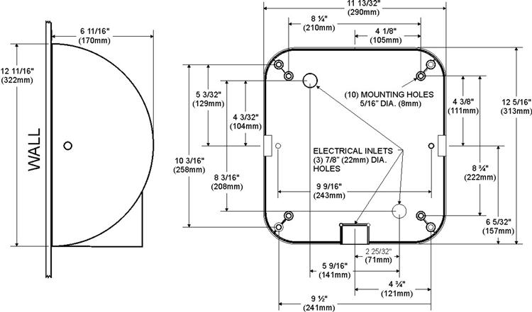 Excel Dryer XLERATOR Automatic High Speed Hand Dryer XL-GR