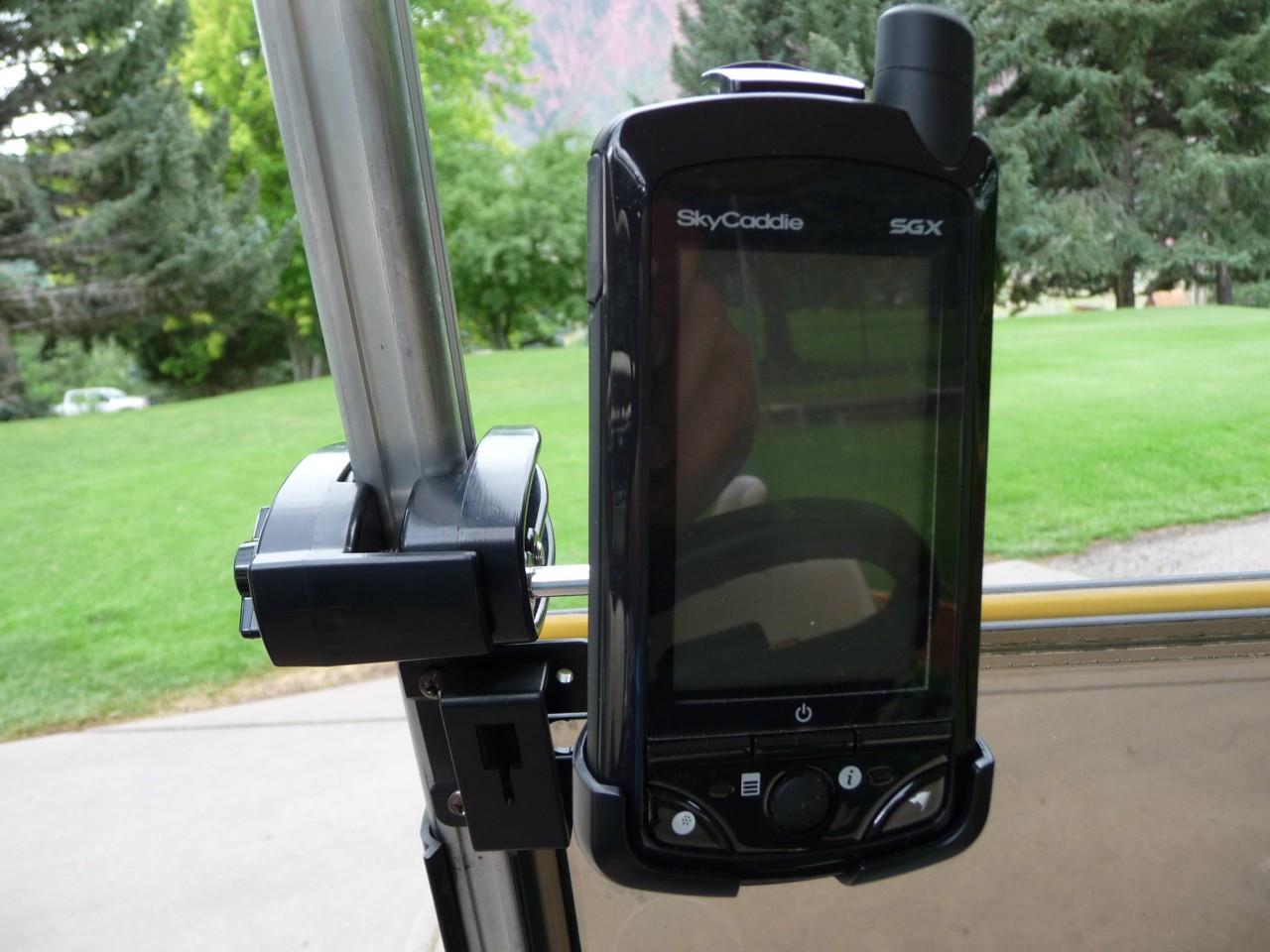 Golf GPS Cart Mount Holder
