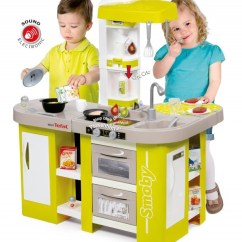 Childrens Toy Kitchen Travel Trailers With Rear Smoby Tefal Cuisine Studio Xl Children S Play