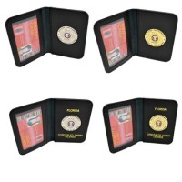2nd Amendment Medallion Wallet | Concealed Carry Permit Holder
