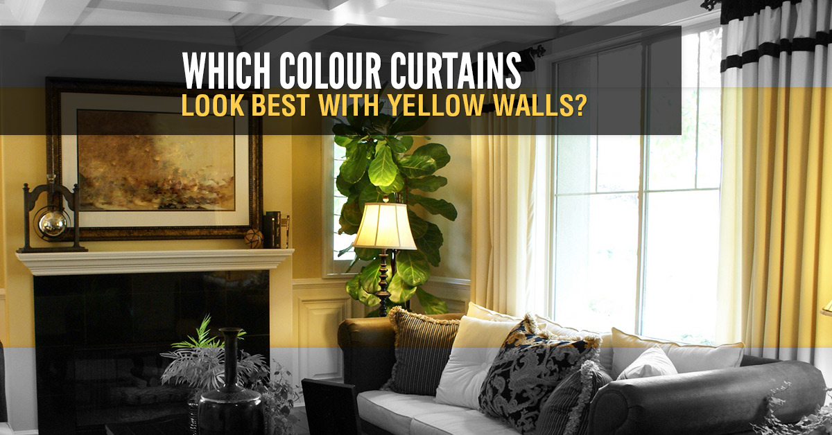 curtains for yellow living room grey sofas ideas which colour look best with walls quickfit blinds what a great idea your home or business is known to brighten the maybe because it of sun