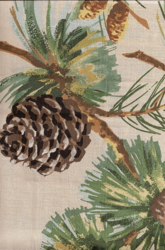 small rocking chairs target rustic fabric for cabins   pine cones & boughs switzerland