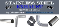 409 Stainless Steel Exhaust