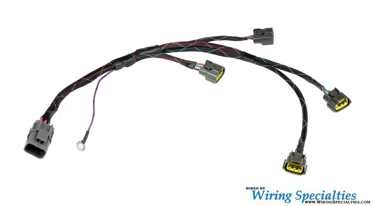 hight resolution of hover over image to zoom wiring specialties s13 sr20det coilpack sub harness