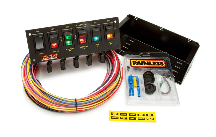 About Painless Wiring 50001 10 Circuit Race Only Chassis Harness