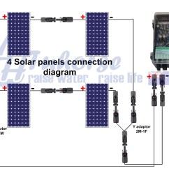 Solar Panel Regulator Wiring Diagram Rv Trailer Light Plug Schematic 300 Controls