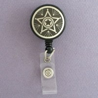 Sheriff Star Retractable I.D. Badge Holders | Kyle Design
