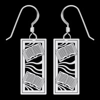 Book Earrings | Kyle Design
