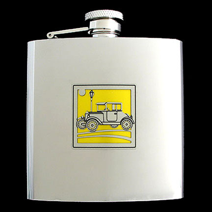 Muscle Car Flask for Dad