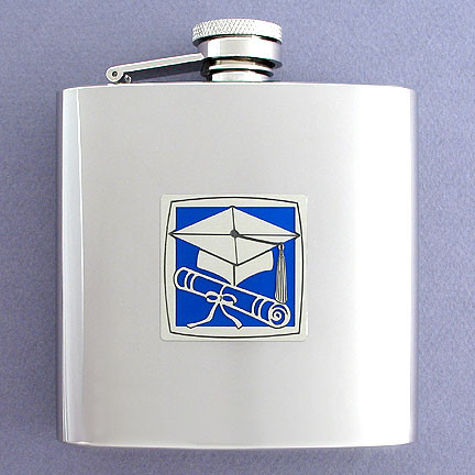 Engraved Flask for Graduation