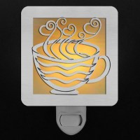 Coffee Cup Night Light | Kyle Design