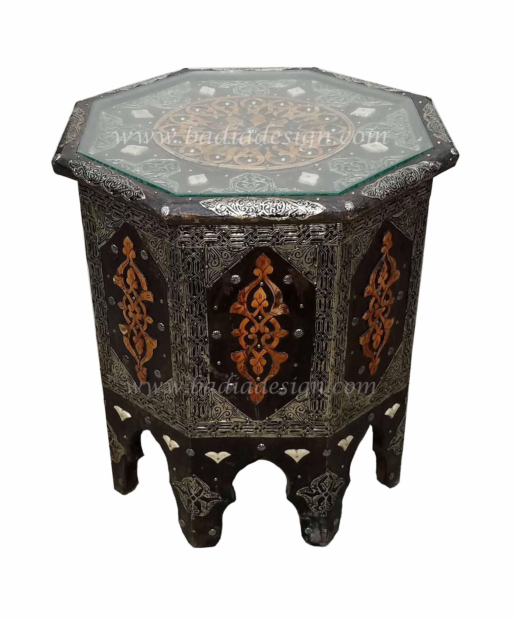 Moroccan Metal Table