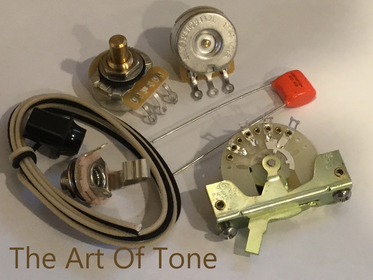 hight resolution of deluxe taot fender telecaster wiring kit the art of tone