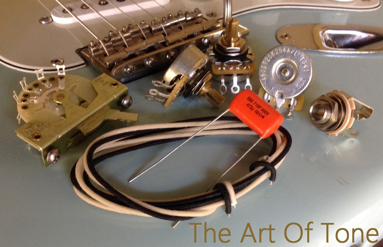 small resolution of deluxe wiring kit for stratocaster 047 sod cap deluxe vintage strat wiring kit 450g pots