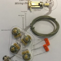 Vintage Les Paul Wiring Diagram Coleman Evcon Electric Furnace Kit Gibson Long Shaft Cts Taot