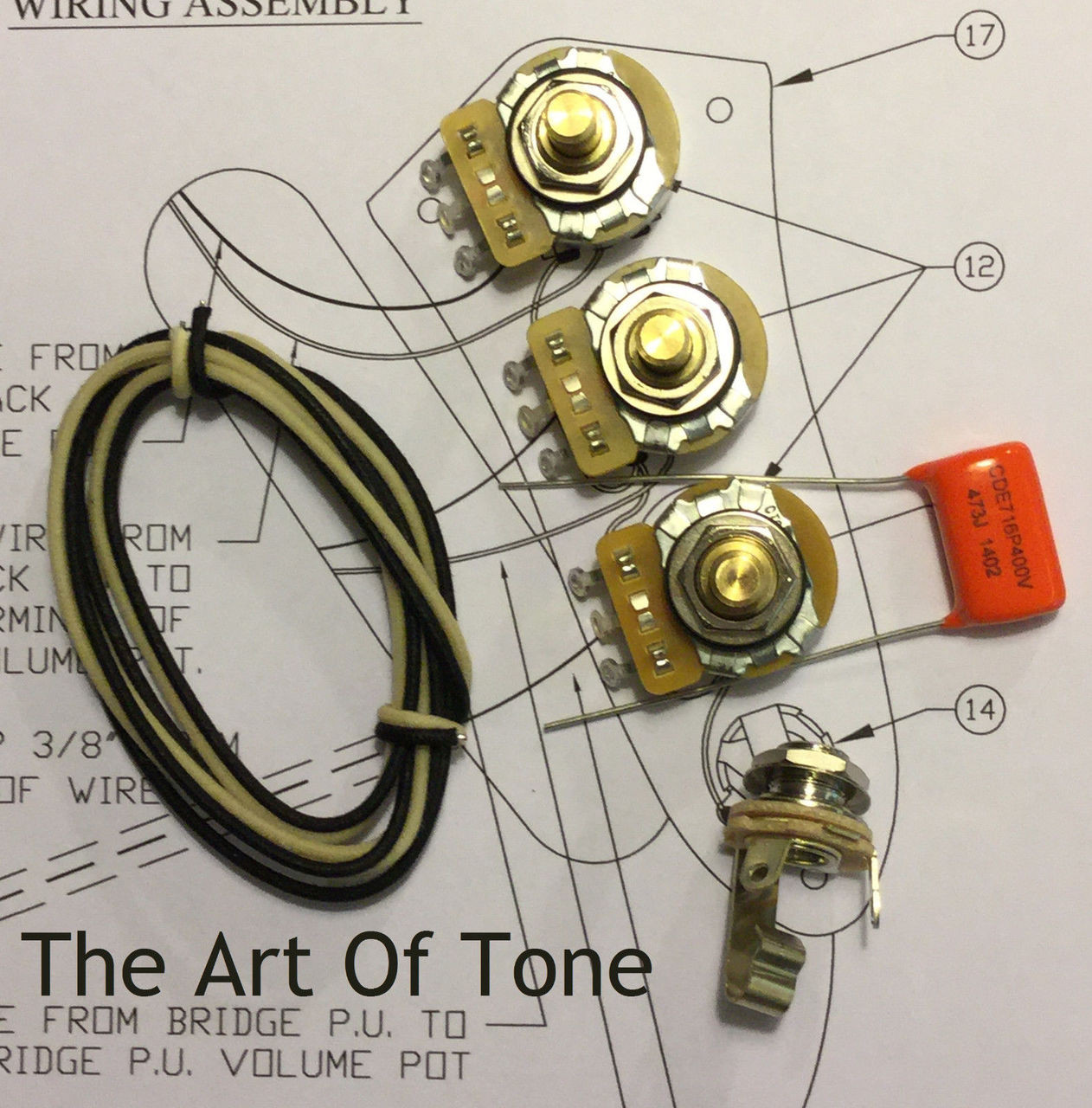 hight resolution of wiring upgrade kit for fender precision bass fender tele wiring diagrams fender pot wiring