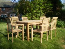 teak patio furniture - chairs