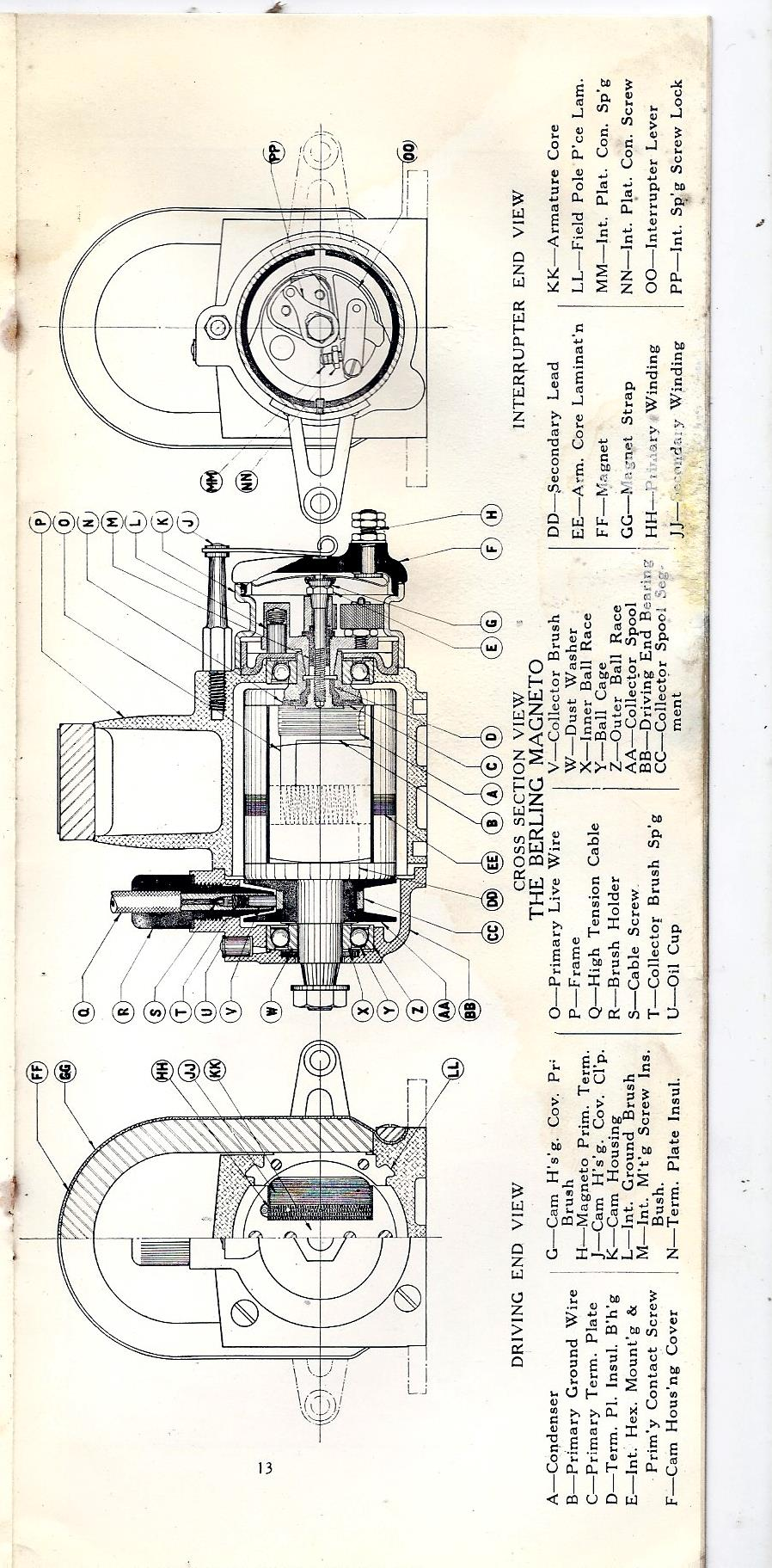 antique tractor wiring diagrams [ 898 x 1823 Pixel ]