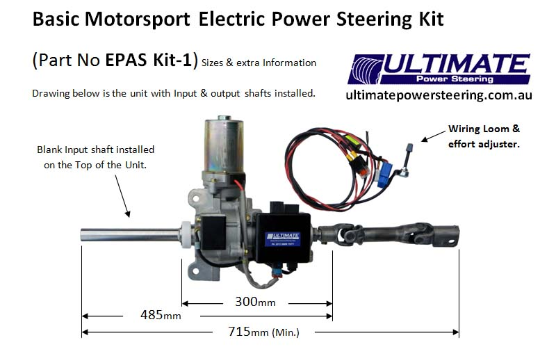 2009 holden colorado wiring diagram three way switch circuit electric power assisted steering columns epas kit 1 basic