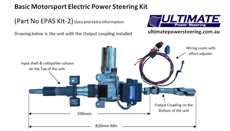 renault trafic ecu wiring diagram adventureworks database electric power assisted steering columns epas kit 2 sizes and extra info photo