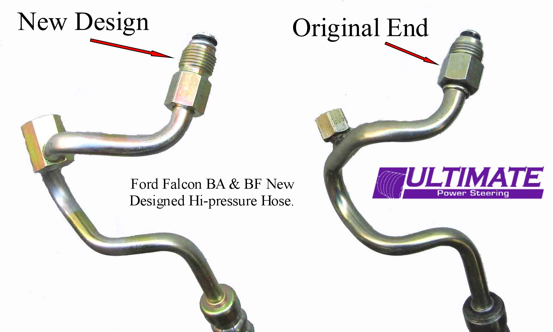 hight resolution of ford ba falcon power steering high pressure hose