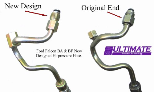 small resolution of ford ba falcon power steering high pressure hose