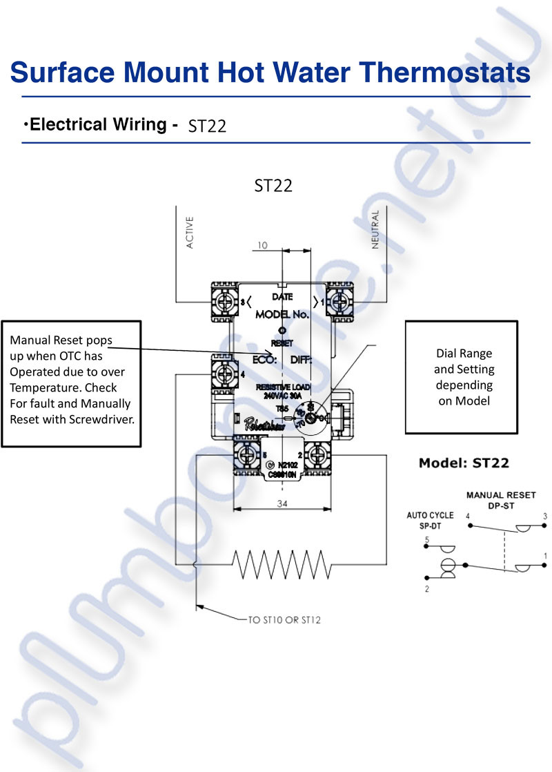 small resolution of manual reset wiring diagram