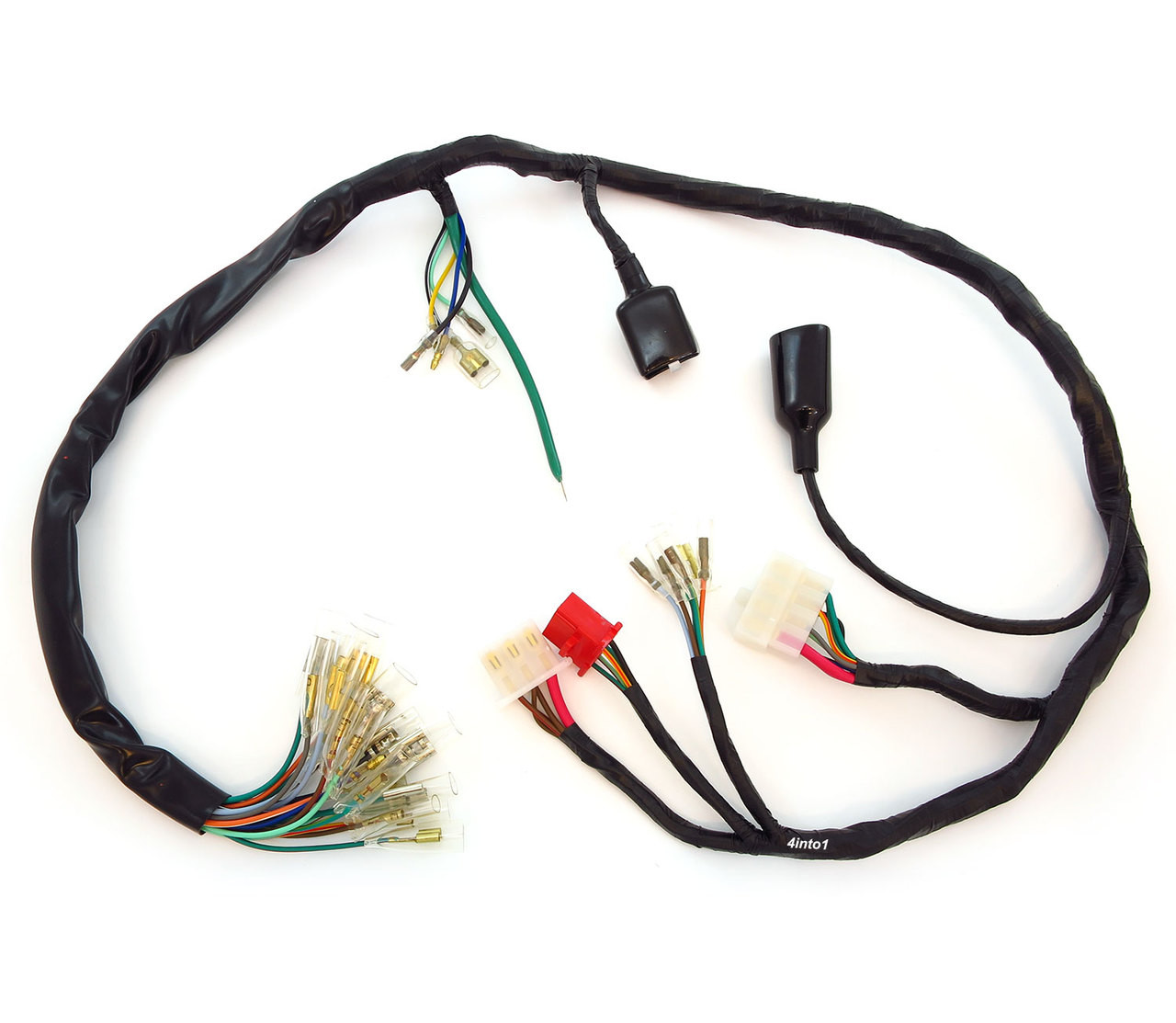 hight resolution of main wiring harness 32100 374 000 honda cb550k 1974 1975 honda wiring harness color code honda wiring harnesses