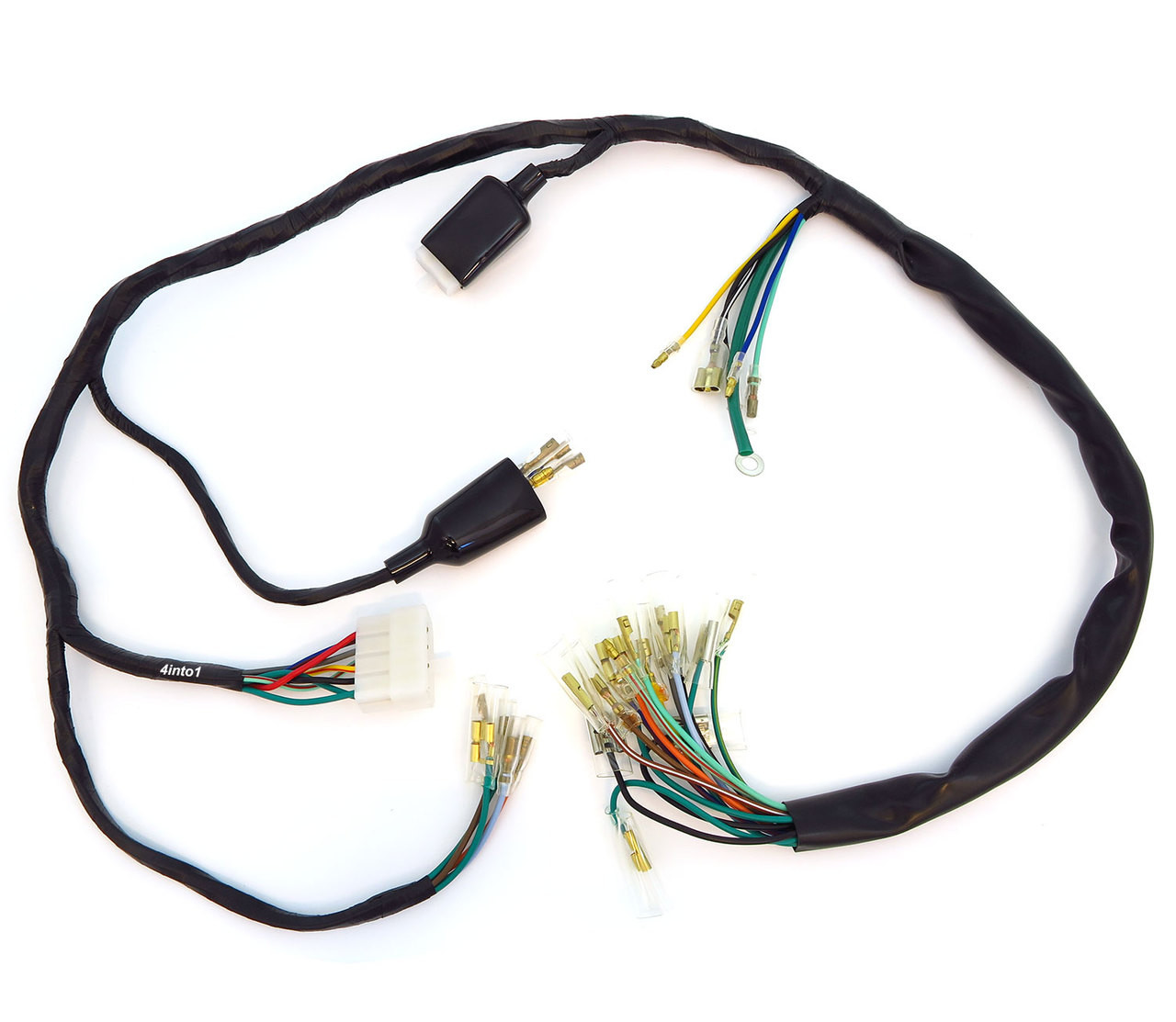 hight resolution of main wiring harness 32100 323 040 honda cb500k 1972 1973 honda wiring harness connectors honda wiring harness