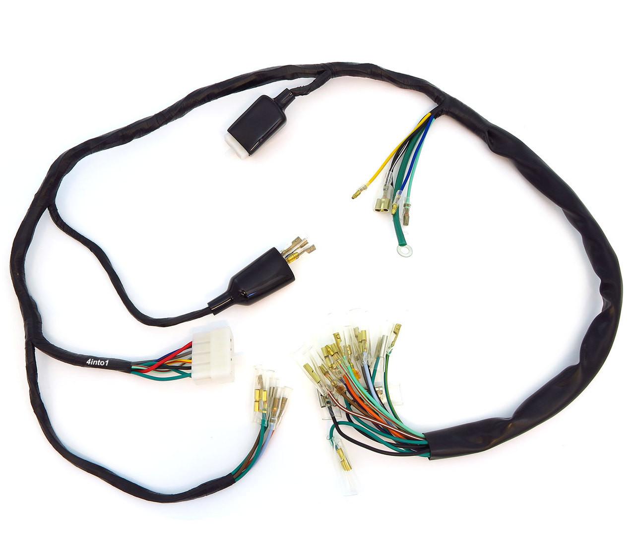small resolution of main wiring harness 32100 323 040 honda cb500k 1972 1973 honda wiring harness connectors honda wiring harness