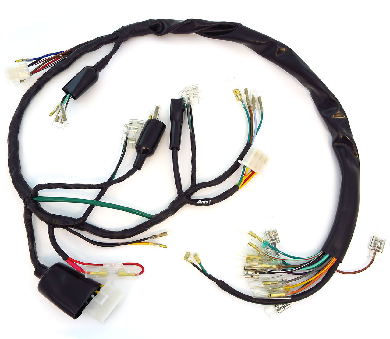 main wiring harness 32100 333 000 honda cb350f make your own honda cb350 wiring harness honda cb350 wiring harness [ 1280 x 1113 Pixel ]