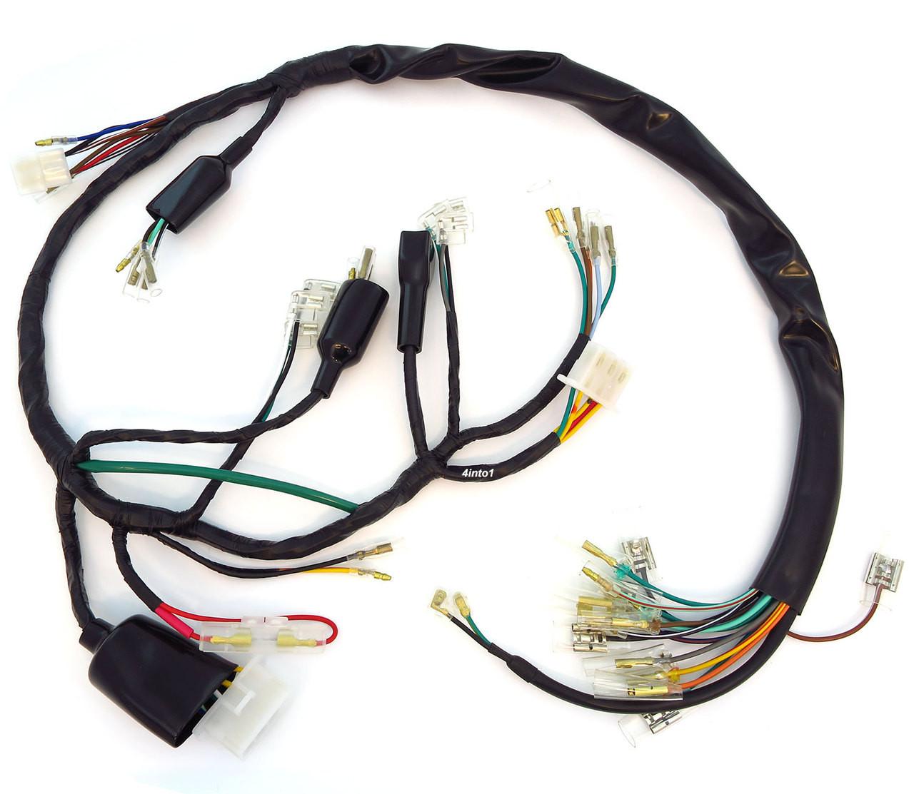 medium resolution of main wiring harness 32100 333 000 honda cb350f make your own honda cb350 wiring harness honda cb350 wiring harness