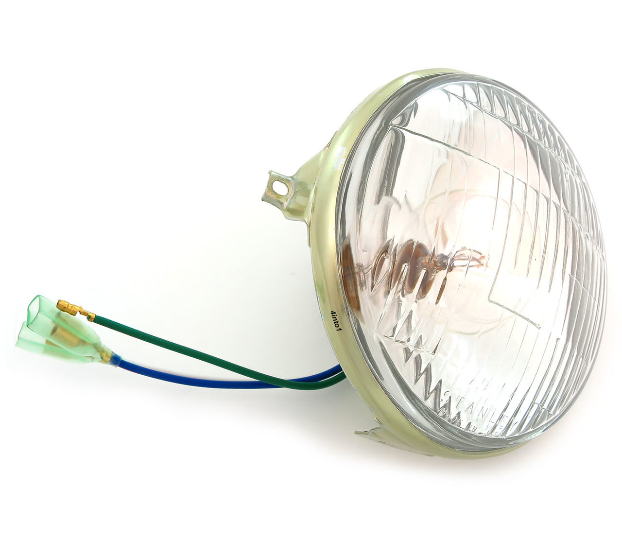 medium resolution of genuine honda 6v sealed beam headlight 33120 243 672 ct1967 honda s90 wiring headlight 10