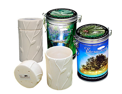 biodegradable memorial tree urn