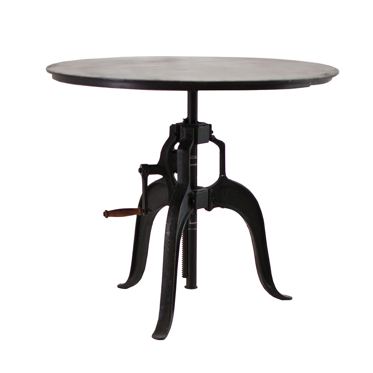Adjustable Height Crank Dining Table 36 Zin Home