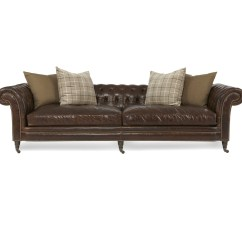 Ralph Lauren Home Chesterfield Sofa Rattan And Chair Sets Cigar Club Tufted Leather 112