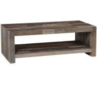 Angora Storm Reclaimed Wood Coffee Table | Zin Home