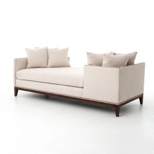 kensington chaise sofa bed a rudin 2698 theory upholstered daybed couch-sofa | zin home