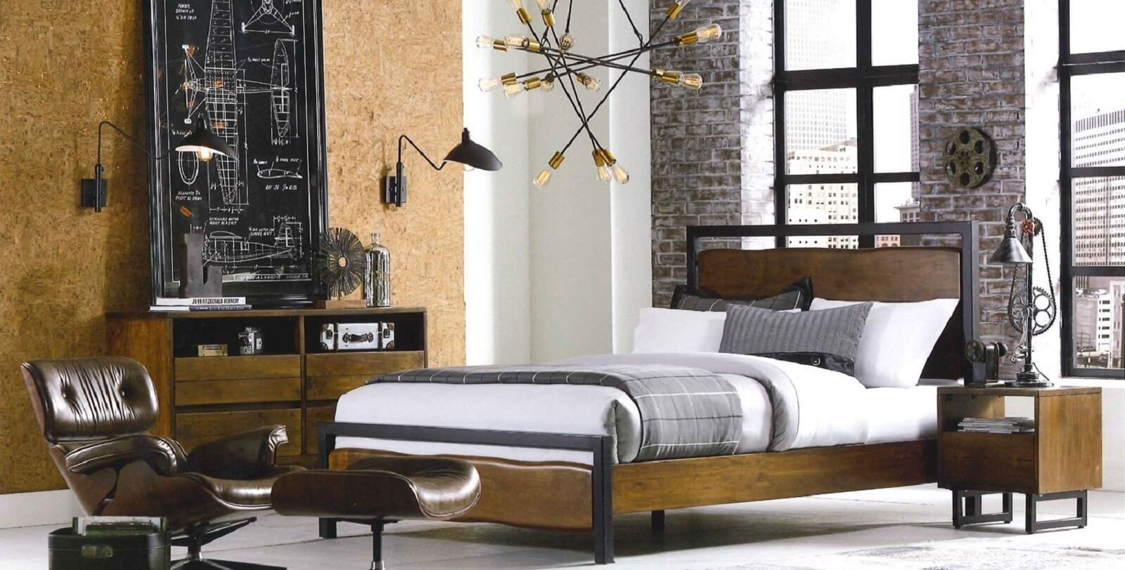Eclectic Modern  Industrial Style Furniture  Shop at