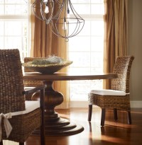 "48"" Round Pedestal Dining Table 