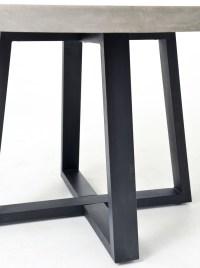 "Masonry Concrete 48"" Round Dining Table | Zin Home"