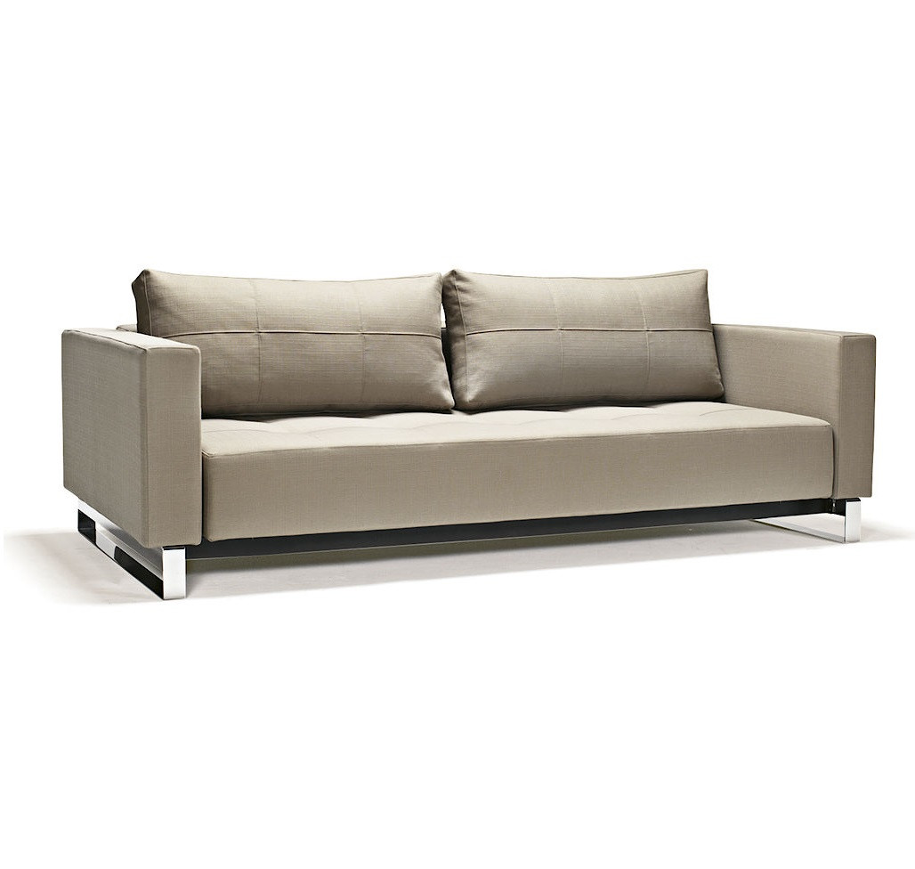 sofa bed lounger 12 foot table modern cassius deluxe excess sleeper