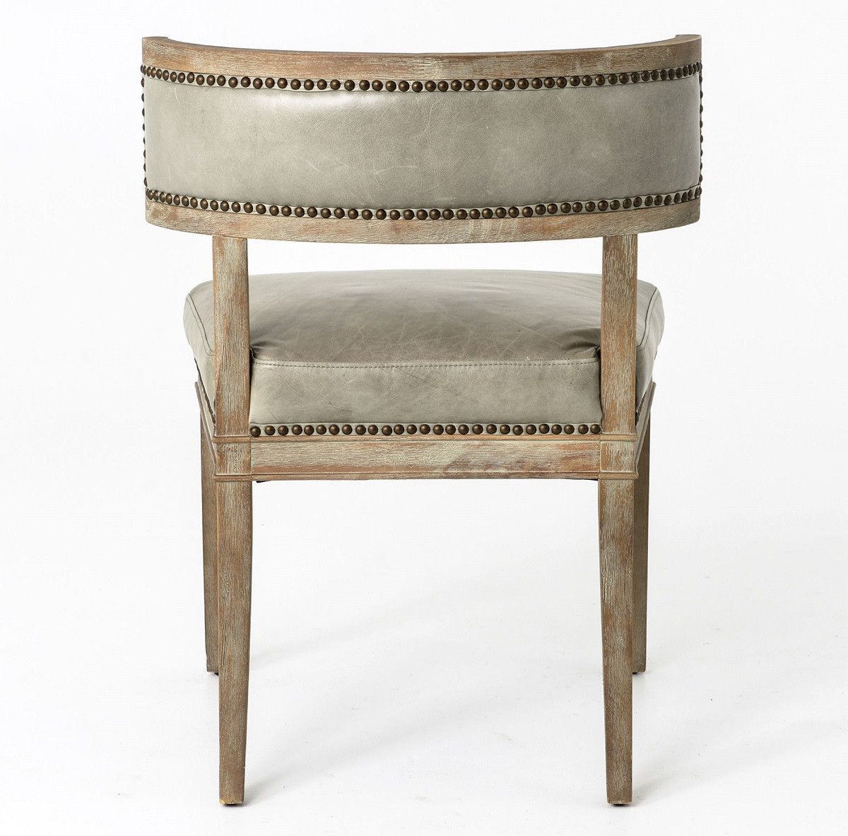 dining room chairs leather rosemary beach chair rental carter curved grey zin home