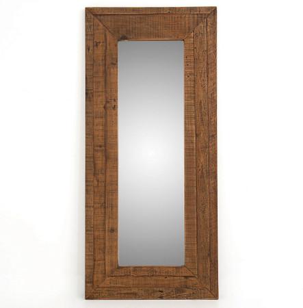 Home decor mirrors farmhouse rustic reclaimed wood large floor mirror