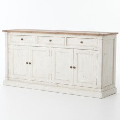 Living Room Console Tables Mirrored Colors Gray Couch Cintra Reclaimed Wood White Sideboard Buffet | Zin Home