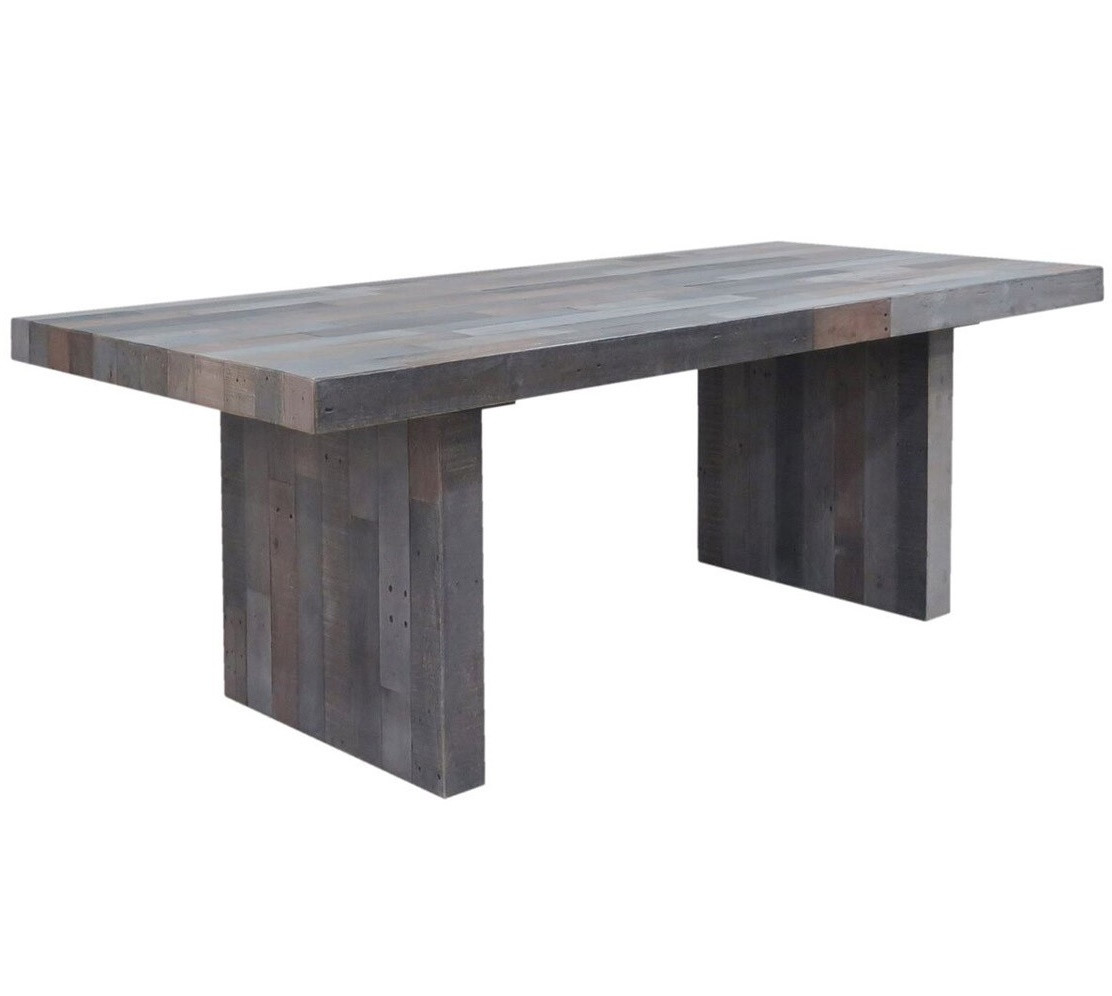 Parota dining table by ben wheatley tropical exotic hardwoods - Angora Storm Reclaimed Wood Dining Table