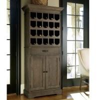 French Oak Tall Wine Bar Cabinet | Zin Home